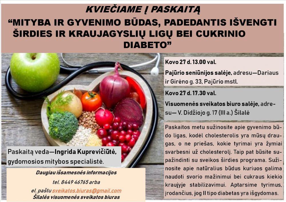 maisto produktai širdies sveikatai)